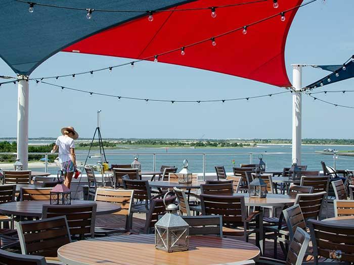 Downtown Beaufort NC Waterfront Restaurants Image