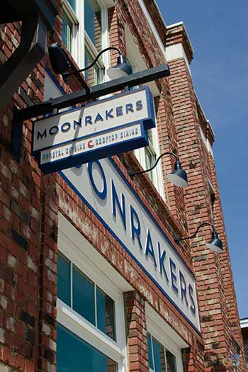 Downtown Beaufort Restaurants Moonrakers Image