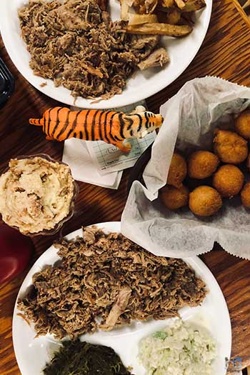 NC Barbecue Restaurants Stephensons Image
