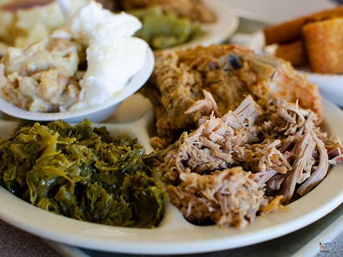 North Carolina BBQ Restaurants Bums Ayden NC Image