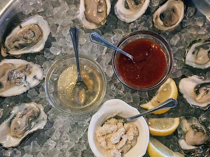 Winston-Salem Restaurants The Katharine Brasserie and Bar Oysters Image