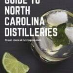 North Carolina Distilleries Pinterest Image