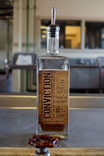 Southern Grace Distilleries NC Bottle During Tasting Image