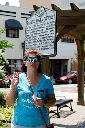 Black Wall Street Durham  NC Image