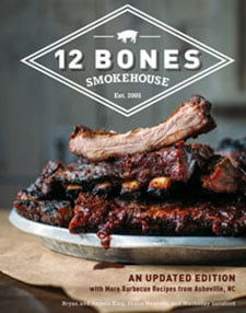 12 Bones Asheville Cookbook Image by Indiebound