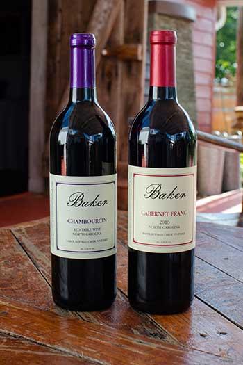 Baker Buffalo Creek Winery Fallston NC Image