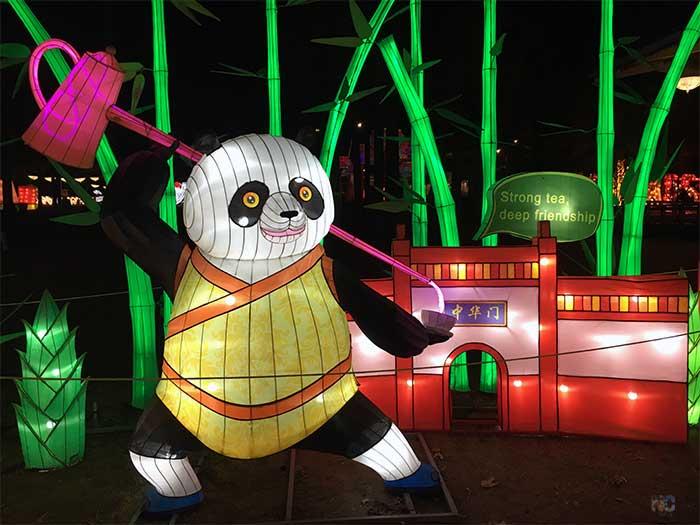 Cary NC Chinese Lantern Festival Image