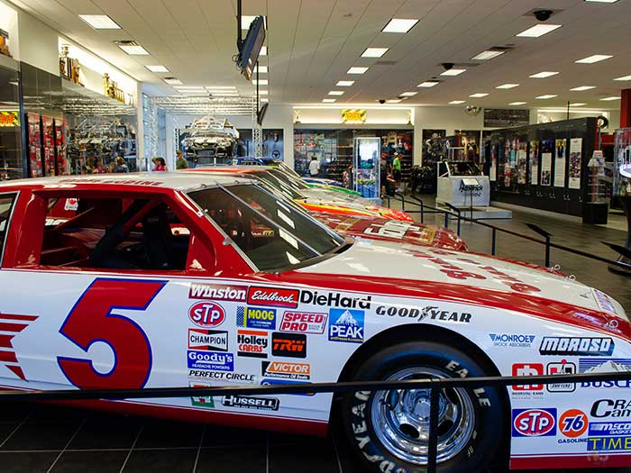Things to Do in Concord NC Hendrick Motorsports Museum and Team Store Image