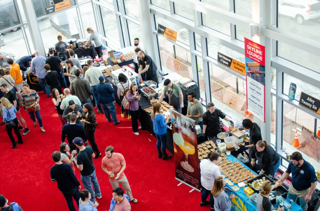 Things to Do in North Carolina in November Durham NC Sip and Savor DPAC Image