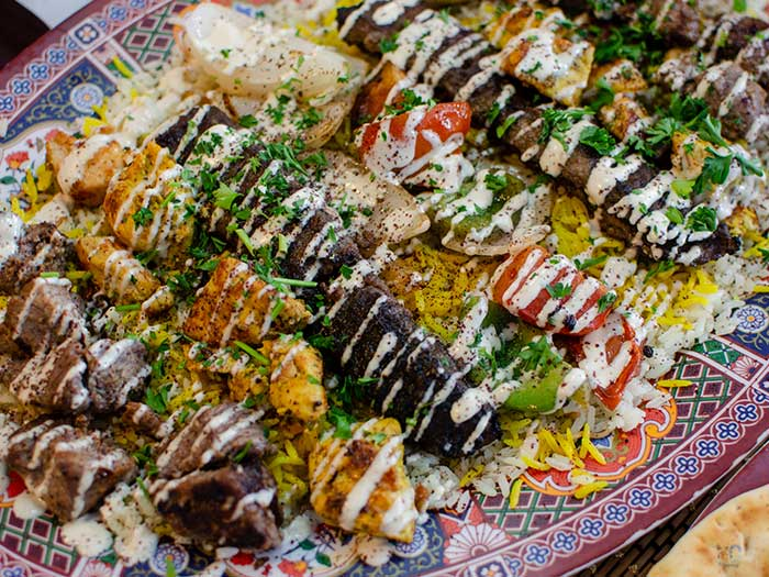 Food in Fayetteville NC Pharaohs Village Image