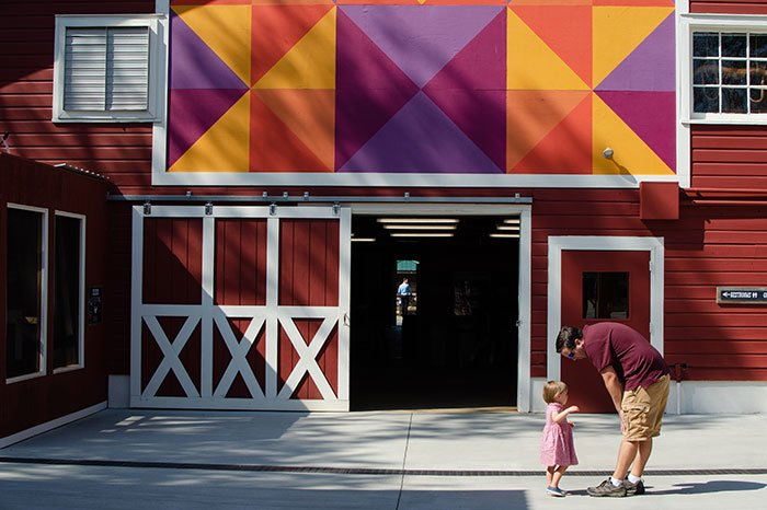 Asheville Nature Center Entrance Image