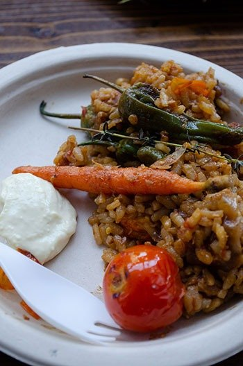 Food in Asheville NC Curate Image