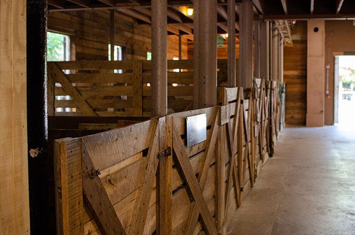 Nature Center Asheville NC Barn Inside Image