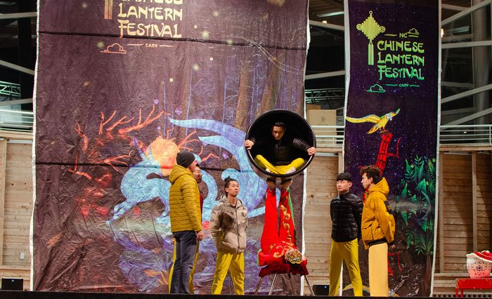 The Chinese Lantern Festival in Cary NC Performance Image
