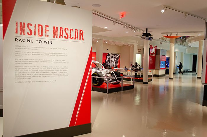 NASCAR Charlotte Hall of Fame Image