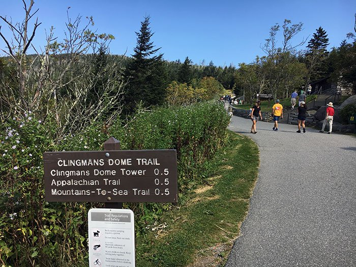 Clingmans Dome Hike Image