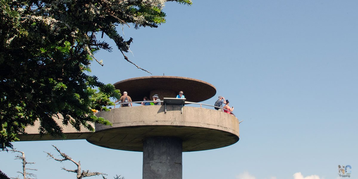 Clingmans Dome Observation Tower North Carolina Travel Guide Featured Images