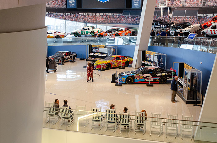 NASCAR Hall of Fame Inside Image