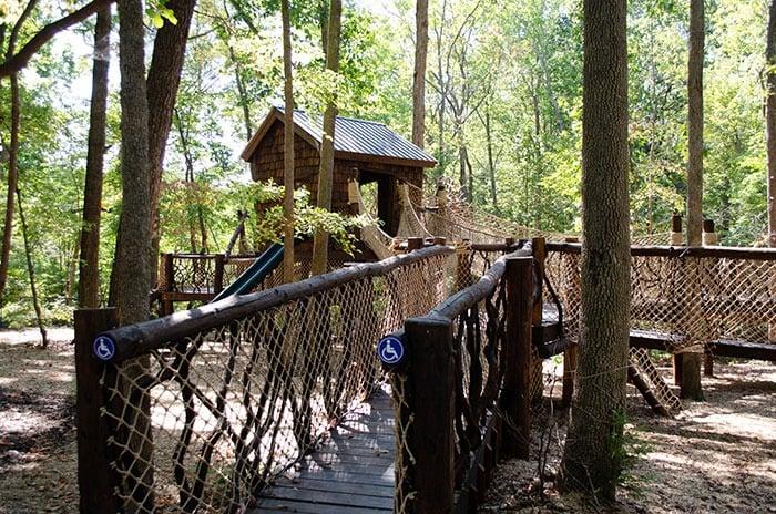 North Carolina Zoo Air Hike Image