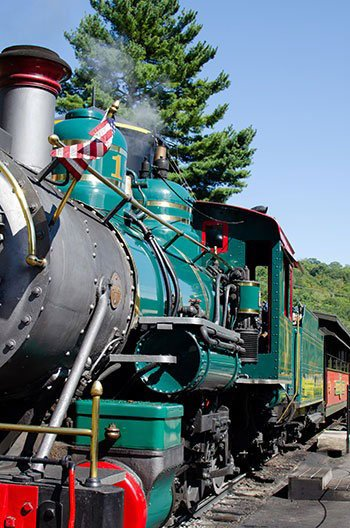 Things to do in NC with Kids Tweetsie Railroad Image