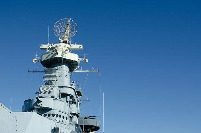 Battleship NC Wilmington Outside Image