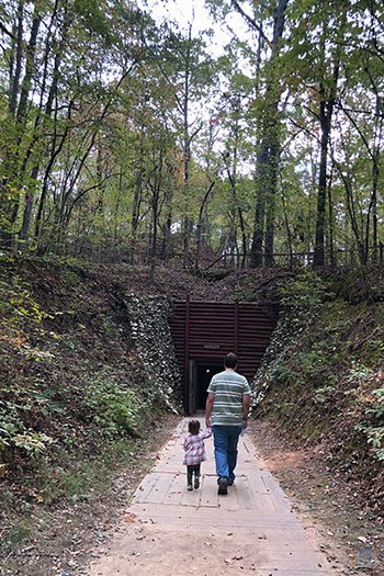Best Road Trips with Kids Reed Gold Mine Midland NC Image