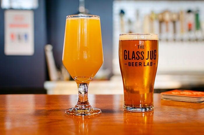 The Glass Jug Beer Lab Durham NC Image