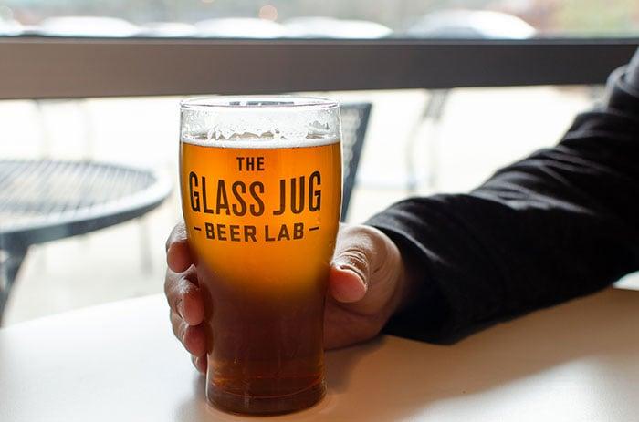 Durham Breweries The Glass Jug Beer Lab Image