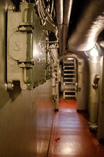 USS North Carolina Interior Image