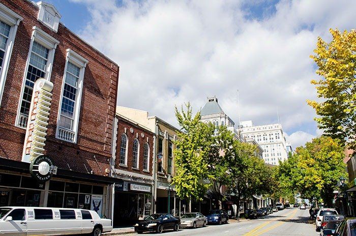 Day Trips in NC Downtown Greensboro Image
