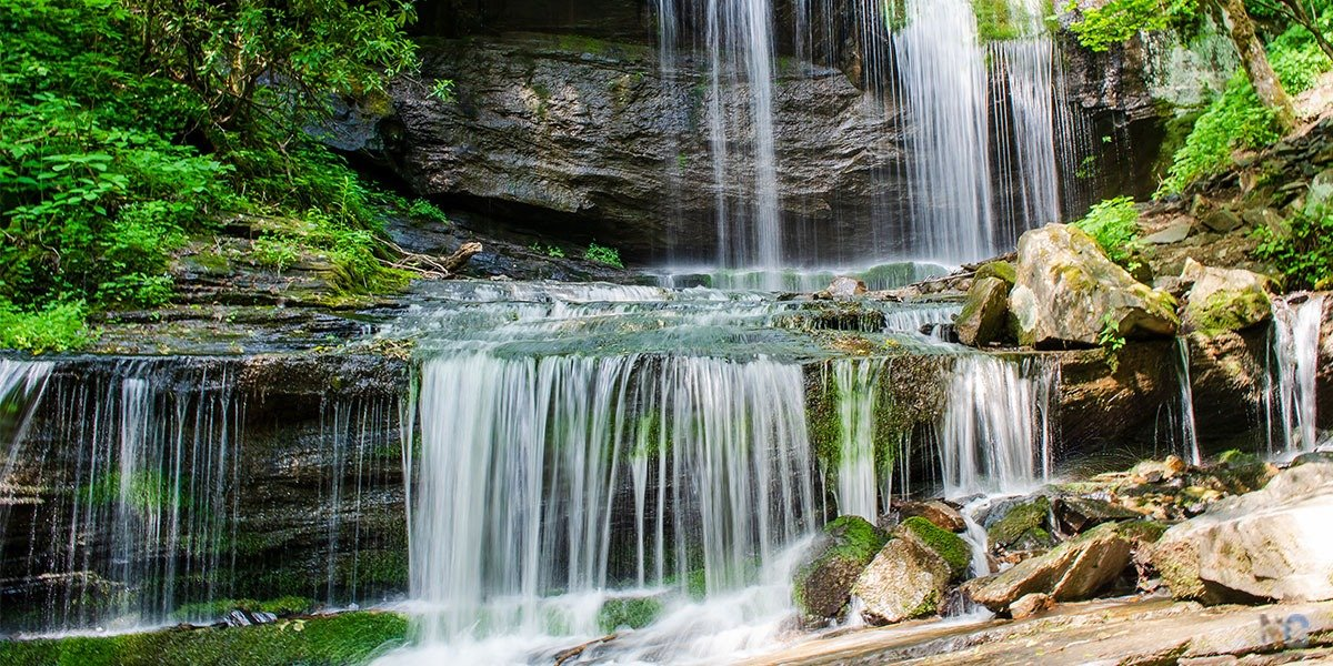 Grassy Creek Falls Little Switzerland NC Travel Guide Featured Image