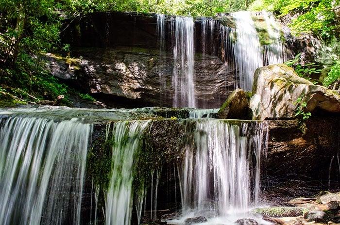 Little Switzerland North Carolina Waterfalls Image