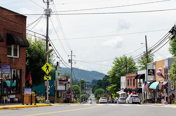 Burnsville NC near Asheville