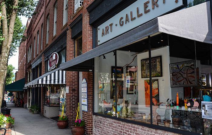 Downtown Brevard Art Galleries