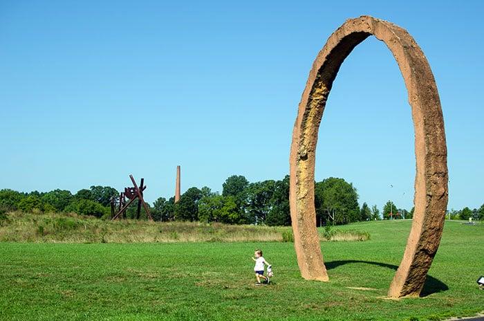Museum of Art Park Raleigh NC