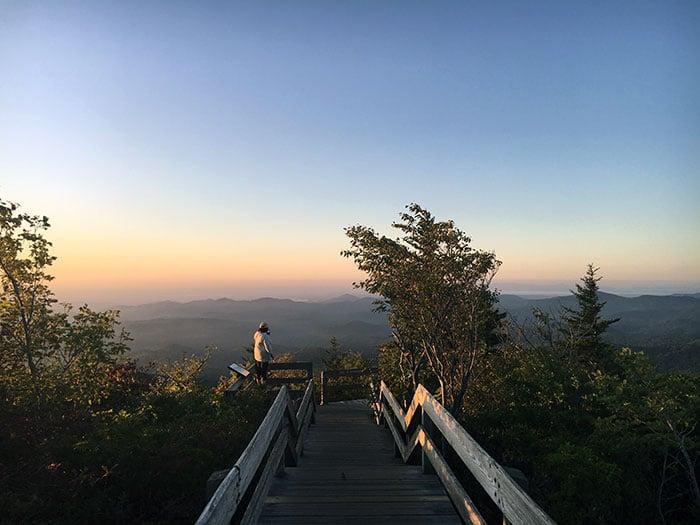Rough Ridge Trail Sunrise Hike