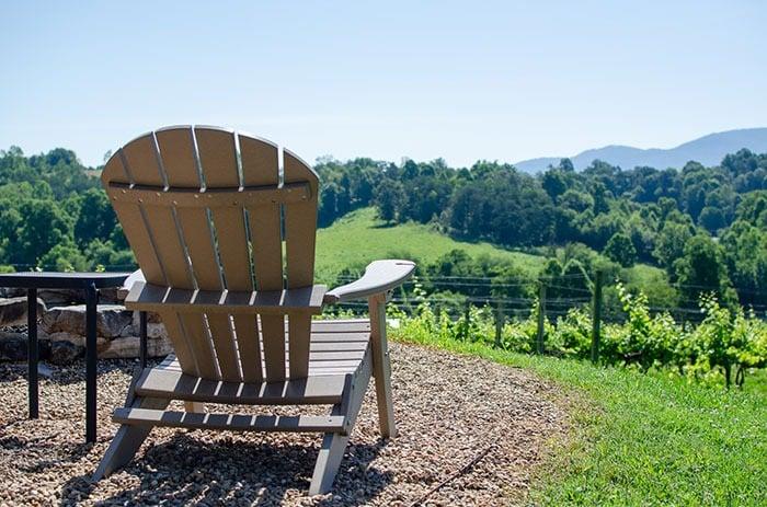 Silver Fork Winery Burke County near Asheville NC
