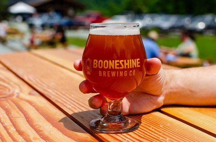 Booneshine Brewery in Boone