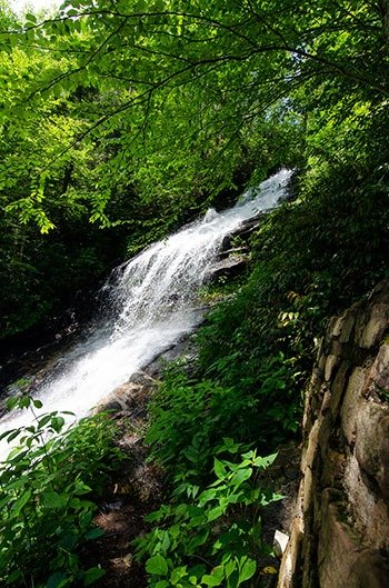Cascades is definitely one of our favorite waterfalls near Boone.
