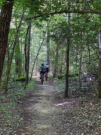 Fonta Flora State Trail Lake James NC