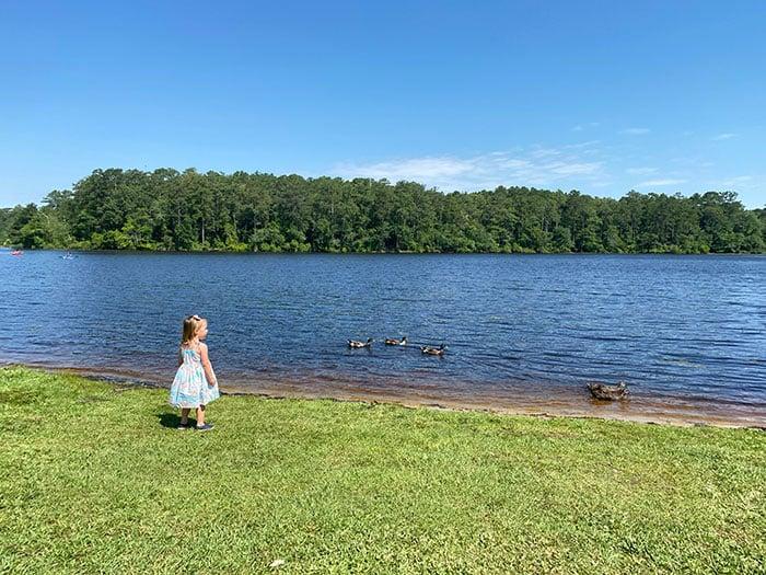 Lake Rim Park Fayetteville outdoors