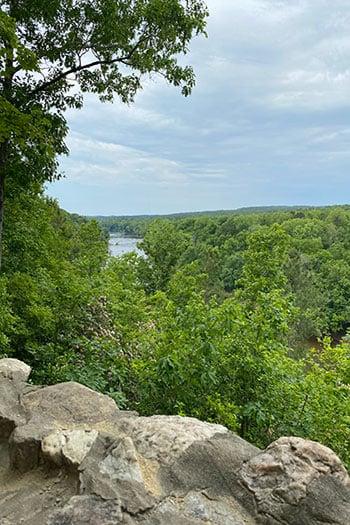 Raven Rock Overlook during Spring