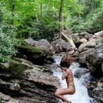 Waterfalls near Asheville NC1