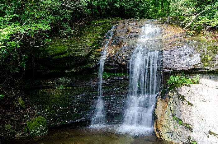 Green Mountain Creek Falls is just one of many fun things you'll see on the Little Parkway.