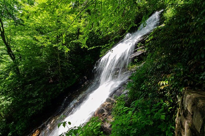 Hikes near Boone Cascades Falls at EB Jeffress Park