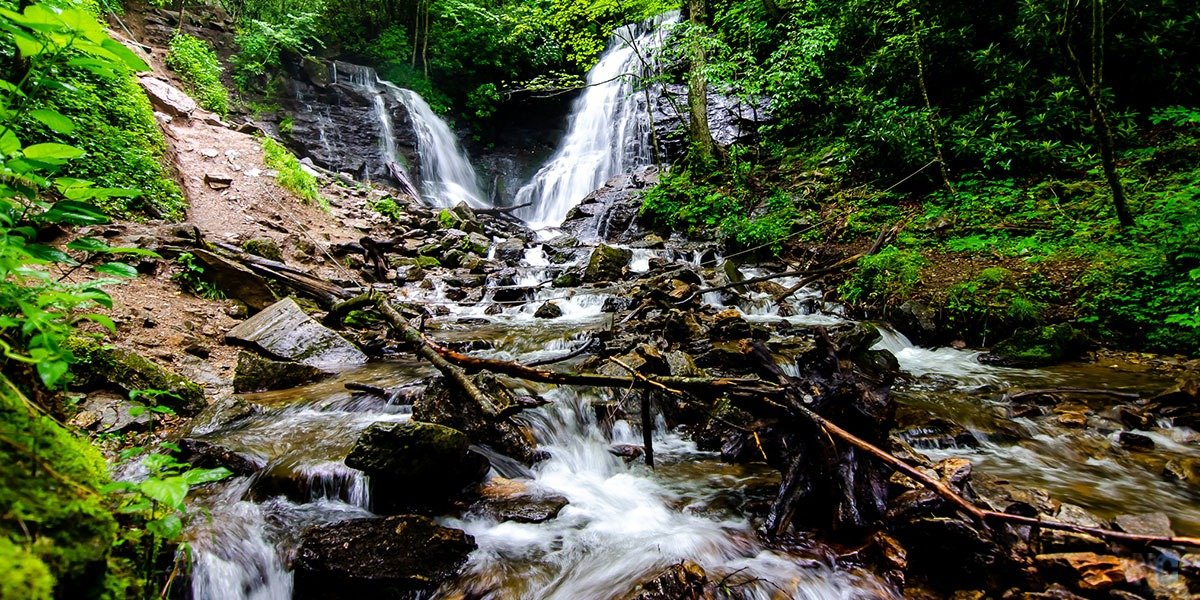 This post will explain why you must visit Soco Falls near Cherokee NC!