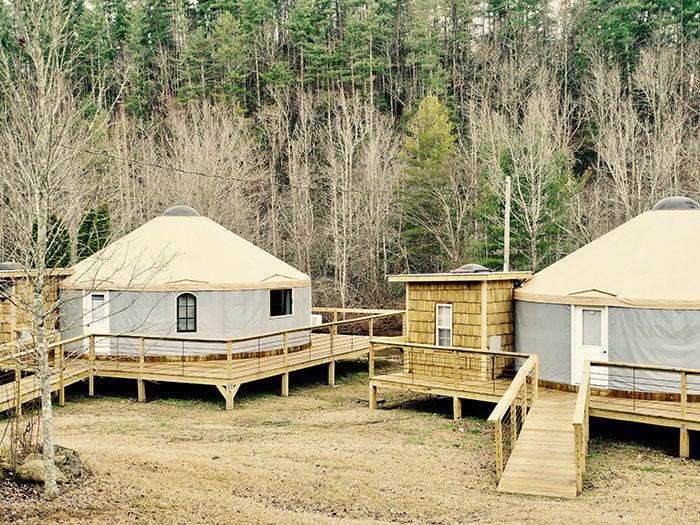 Brown Mountain Beach Resort Yurt 1