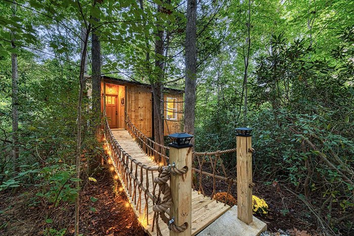 Old Fort Treehouse Airbnbs in North Carolina