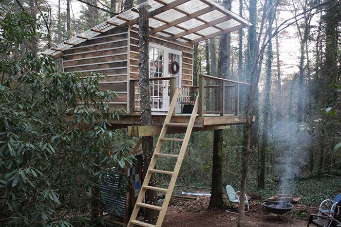 Pavilion of Happyness Airbnbs in North Carolina
