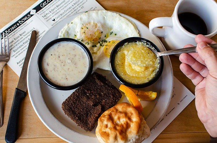 Having breakfast, lunch, or dinner at Pig n' Grits is one of the most important things to do in Burnsville.